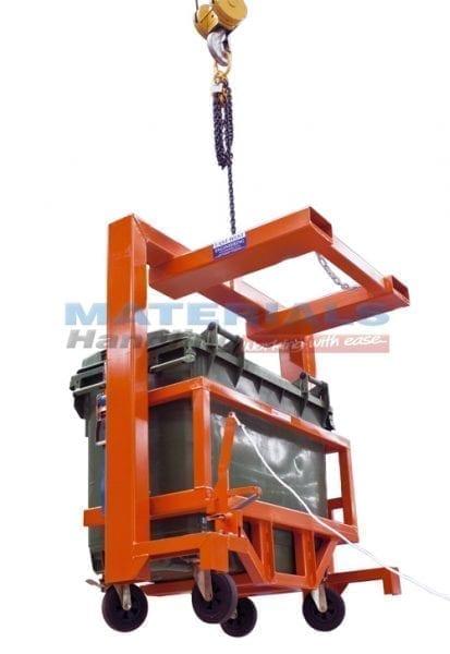 MFWC66 Forklift Mounted Wheelie Bin Tippers