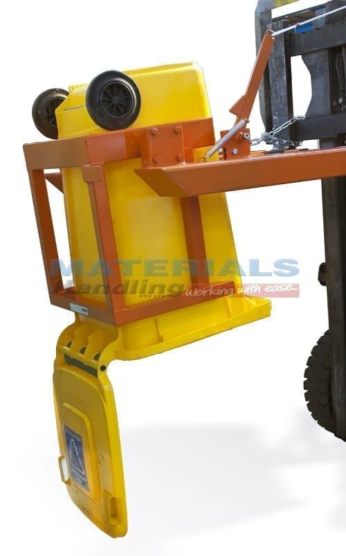 MFWE24 Forklift Wheelie Bin Tipper tipping watermark copy