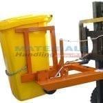 MFWE24 Forklift Mounted Wheelie Bin Tippers
