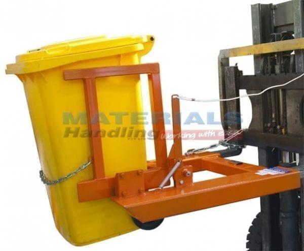 MFWE24 Forklift Wheelie Bin Tipper upright watermark copy