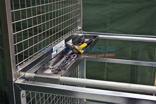 MFWP25 Forklift Mounted Work Platforms optional tool tray