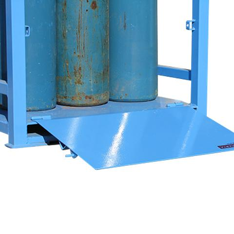 MG04D Gas Cylinder Storage Cages ramp