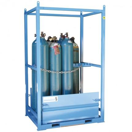 MG06D Gas Cylinder Storage Cages ramp up