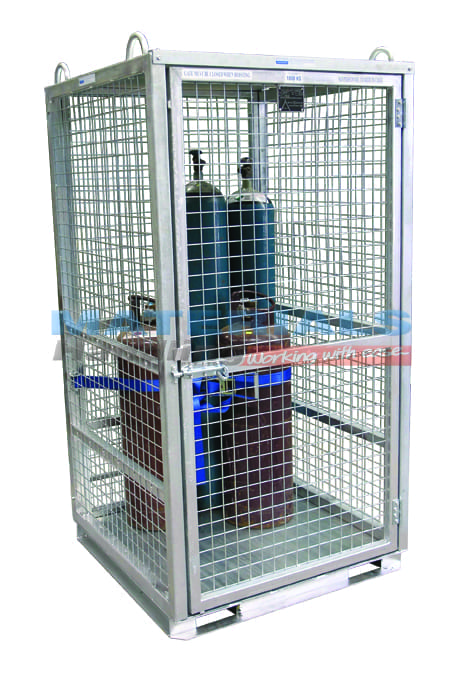 MGBCM Gas Cylinder Cage (Secure) - Assembled