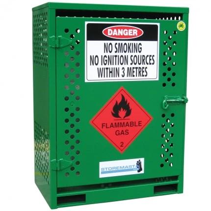 MGF02 LPG Gasy Cylinder Storage closed