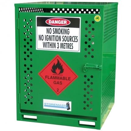 MGF04 LPG Gasy Cylinder Storage closed