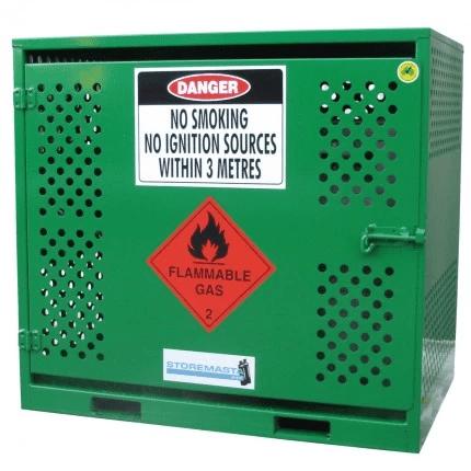 MGF06 LPG Gasy Cylinder Storage closed