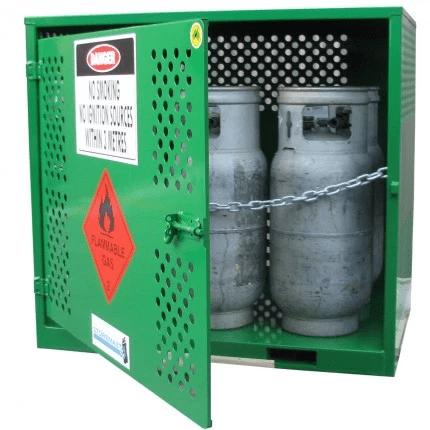 MGF06 LPG Gasy Cylinder Storage open