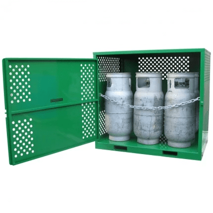 MGF06 LPG Gasy Cylinder Storage wide open