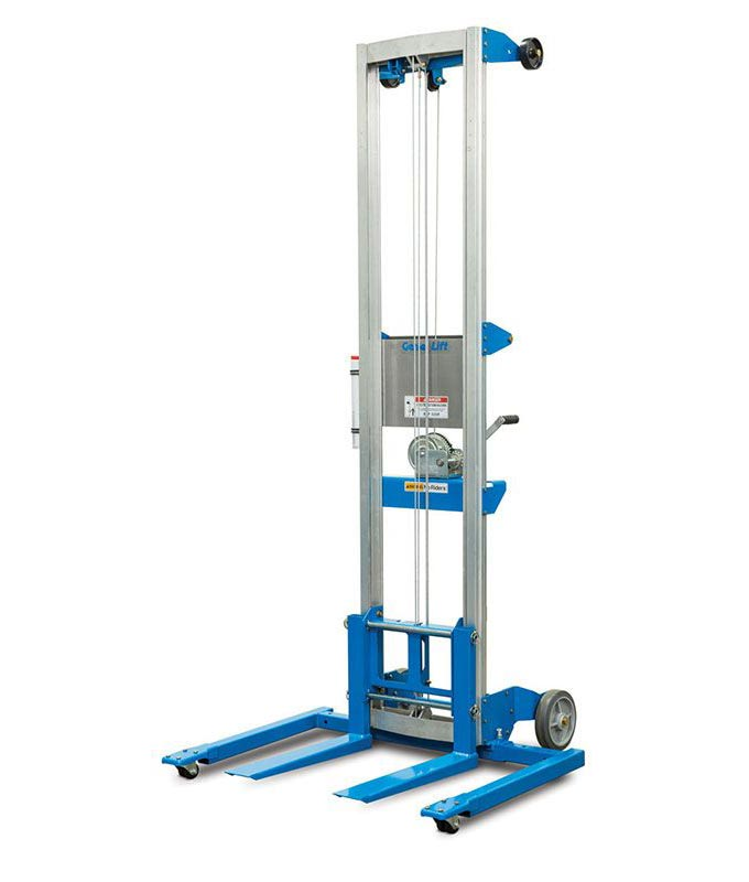 MGL8 Genie Lift Manual Materials Lift