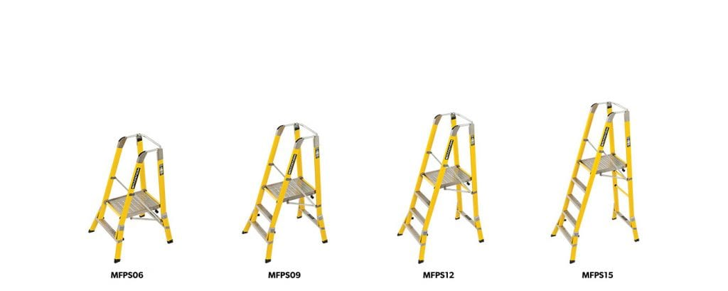 MH Corrosion Proof Step Platforms Range 1