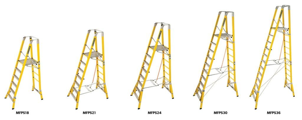 MH Corrosion Proof Step Platforms Range 2