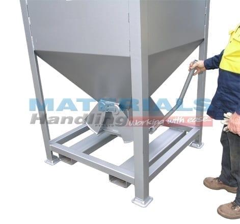 Hopper Bins Materials Handling