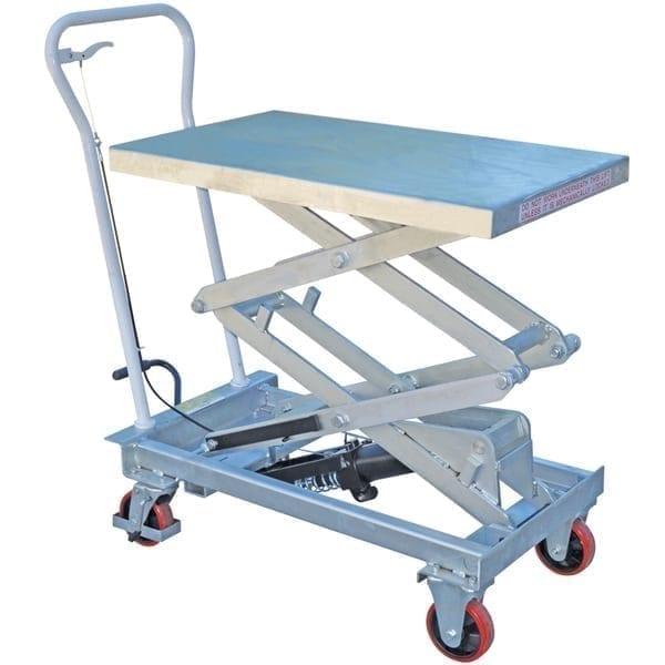 MLT150G Galvanised Scissor Lift Trolleys