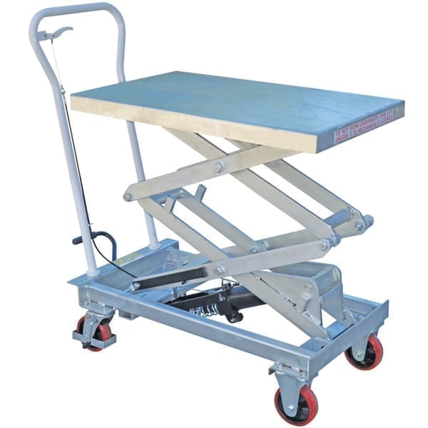 MLT150G Galvanised Scissor Lift Trolleys web