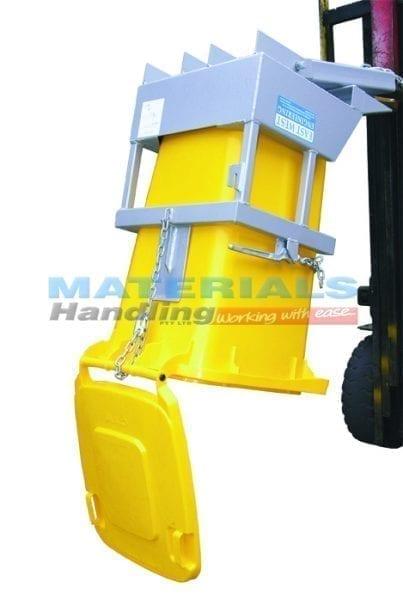 MNWBT1Forklift Mounted Wheelie Bin Tippers
