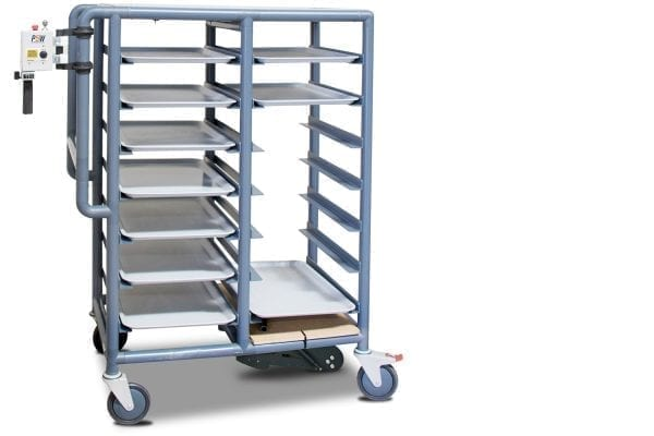 MP5W vertical controller meal delivery trolley