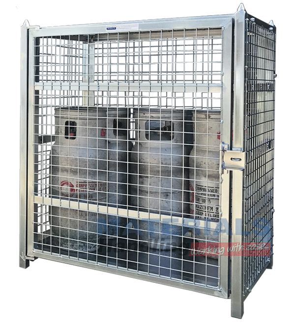 MSGB129 Gas Cylinder Storage Cages main