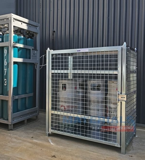 MSGB129 Gas Cylinder Storage Cages storage