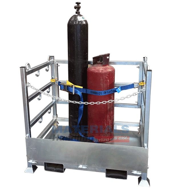 MSGC80 Gas Cylinder Stillage Cage main