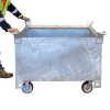 MSSC Crane Waste Bins Optional Wheels