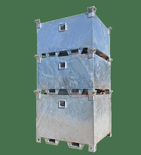 MSSC Crane Waste Bins Stacked