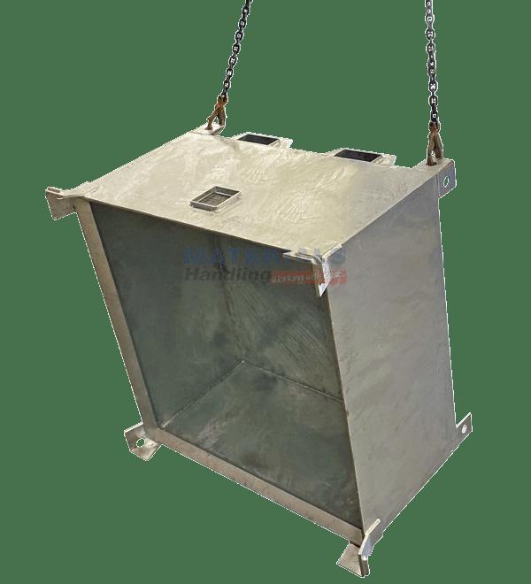 MSSC Crane Waste Bins Transported via Crane