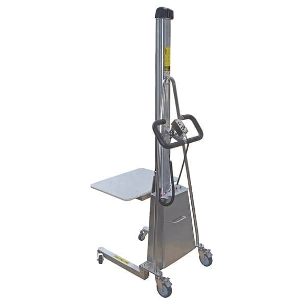 MUVR002SS Stainless Steel Powered Mobile Platform Lifters