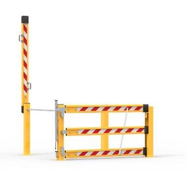 MZ1500 A Dual Action Mezzanine Gate 2