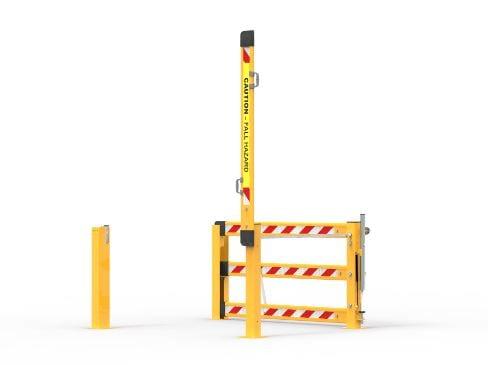 MZ1500 A Dual Action Mezzanine Gate
