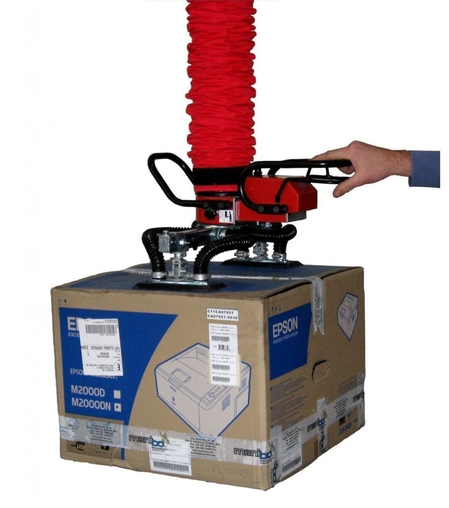 Box Lift Assist : Vacuum lifting devices archives materials handling