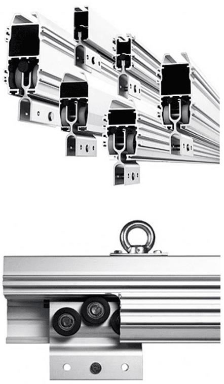 MechRail crane system profiles