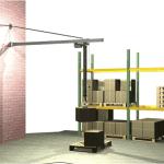 MechRail Jib Crane wall mounted