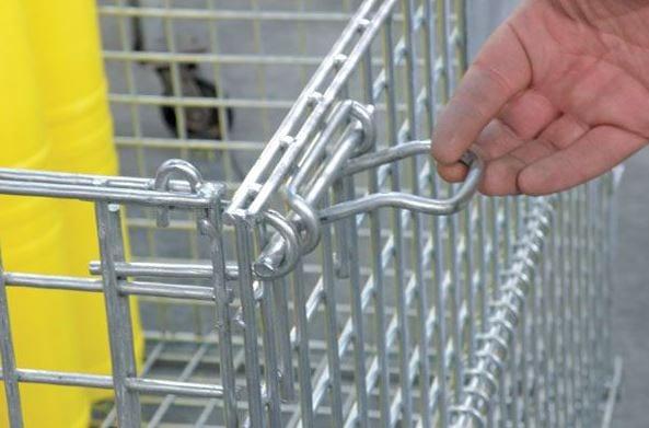 Mesh Storage Cage application 4