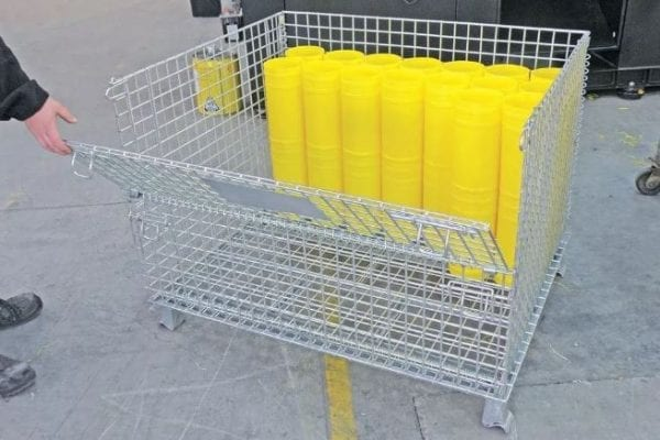 Mesh Storage Cage application