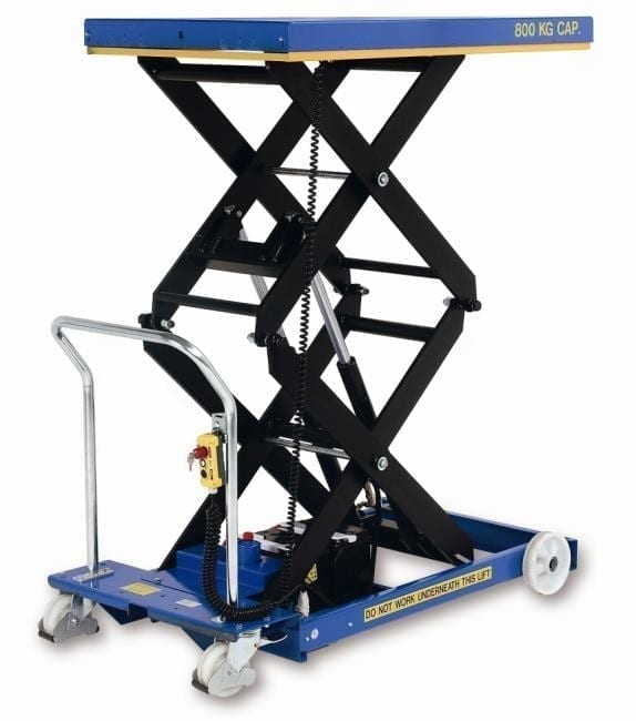 Mobile Scissor Lift Table double action