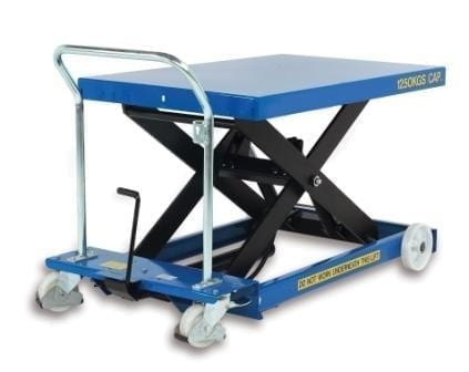 Mobile Scissor Lift Table single action