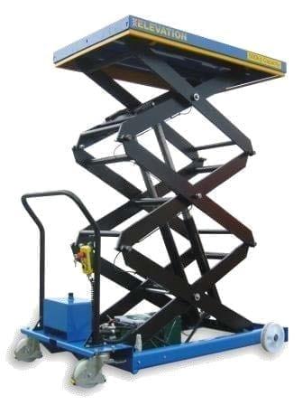 Mobile Scissor Lift Table triple action