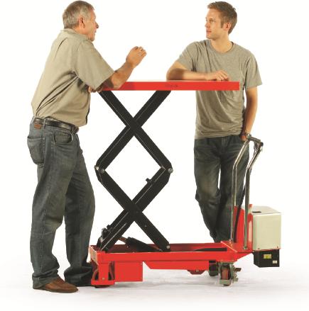 Mobile Scissor Lift Trolleys