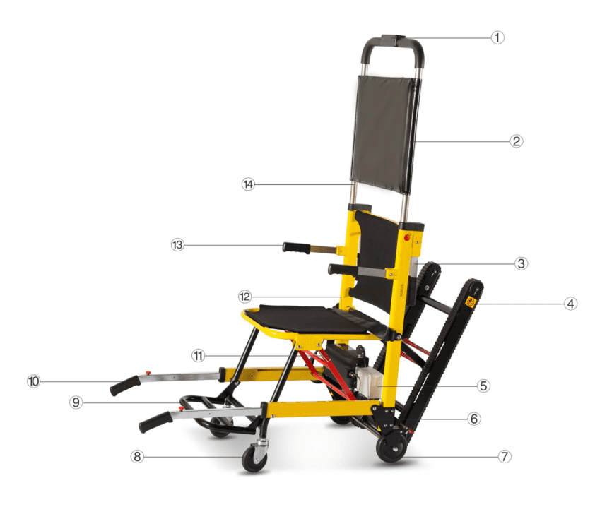 Mobile Stair Lift - ST003A