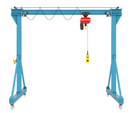 Mobile gantry crane 3