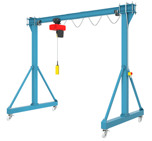 Mobile gantry crane 5
