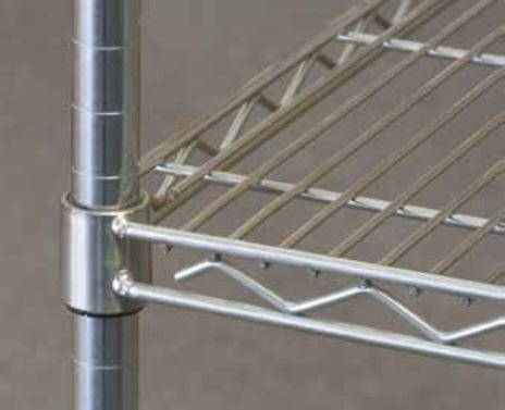 Modular Wire Shelving wire construction