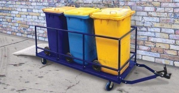 Wheelie Bin Transporter Trailer