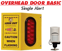 Look Out Overhead Door Basic OHB1 Model - Single Alert