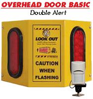 Look Out Overhead Door Basic OHB2 Model - Double Alert