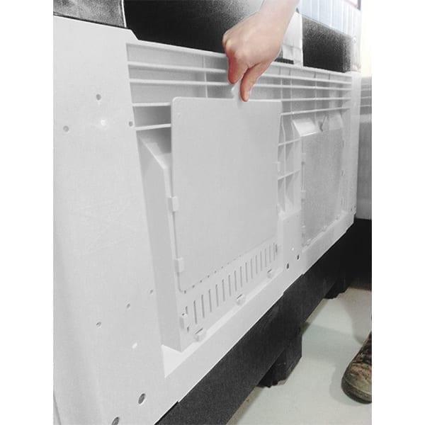 OZBIN Folding Pallet Bin