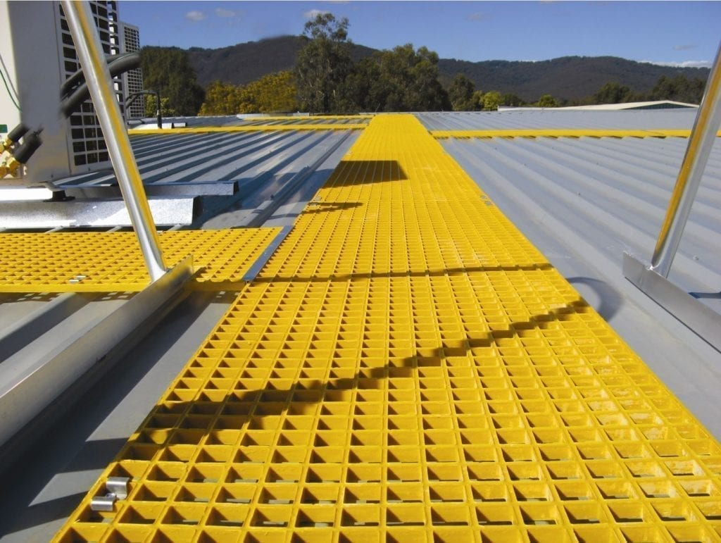 On-Trak Walkway Systems - Materials Handling