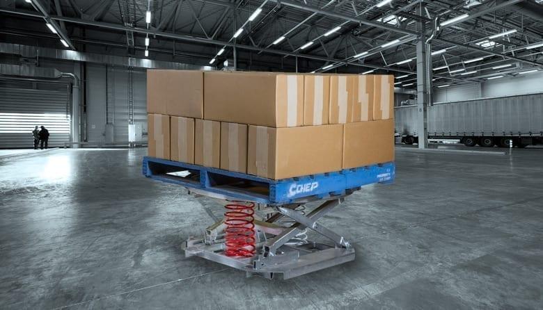 Palift Palletising Tables Materials Handling