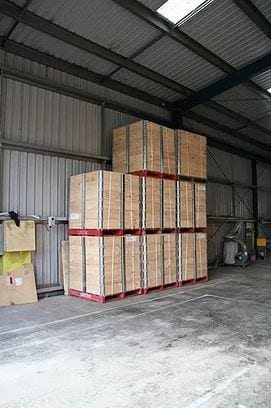 Pallet Collars Optimise Static Space